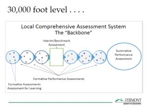 Backbone Diagram for Local Comprehensive Assessment System
