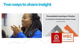 Image of Two Ways to Share Insight -- Images and Reports