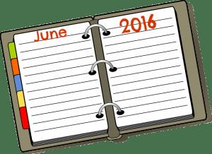 Calendar Page June