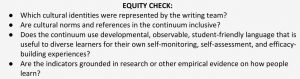 Equity Check