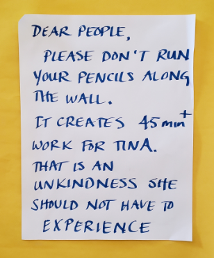 Note on Wall