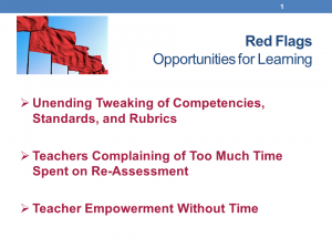 Five Red Flags