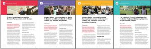 Covers of the Four Research Report Briefs