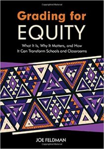 Book Cover of Grading for Equity