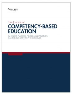Cover of Journal of Competency-Based Education