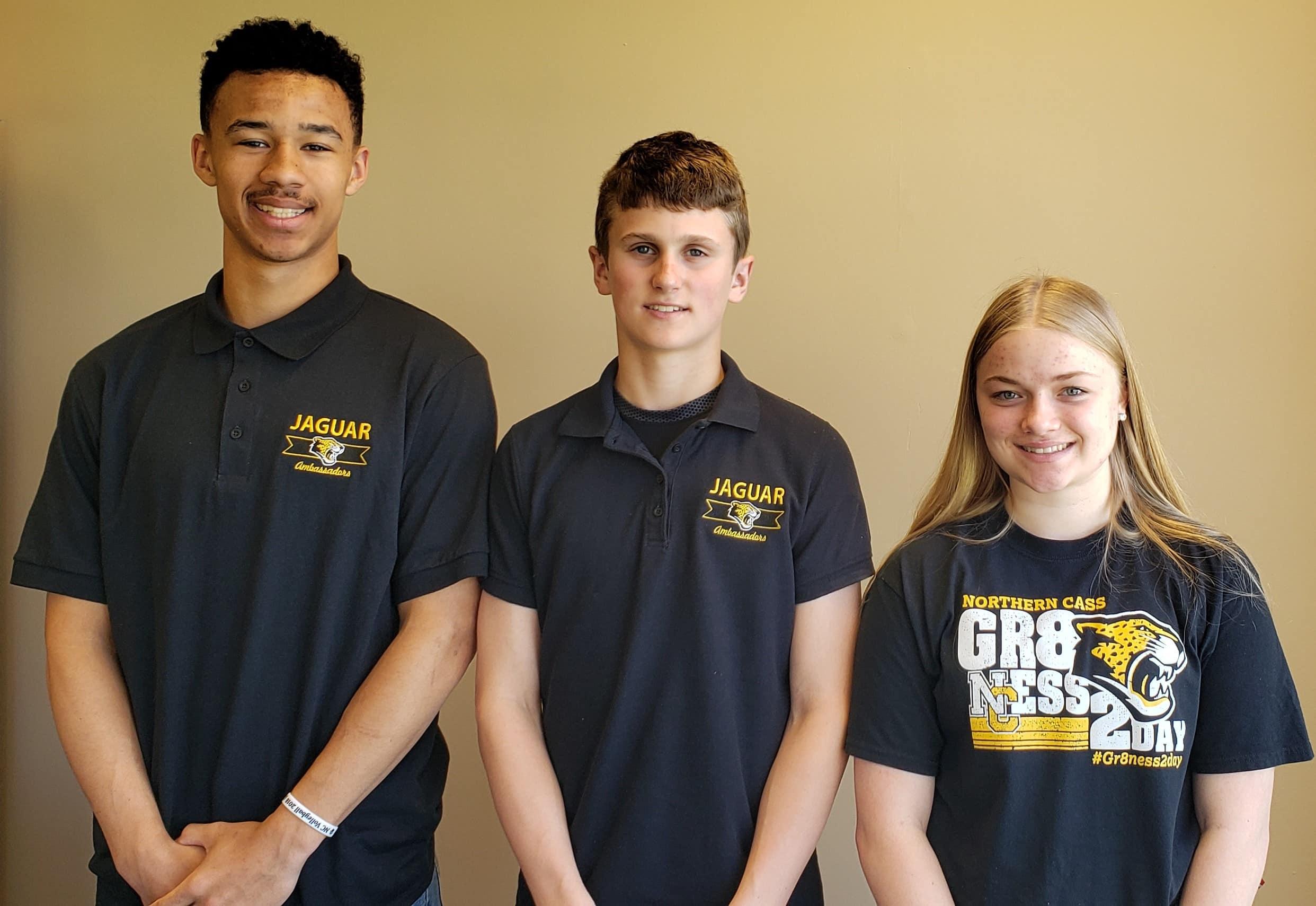 Three Students, School Ambassadors