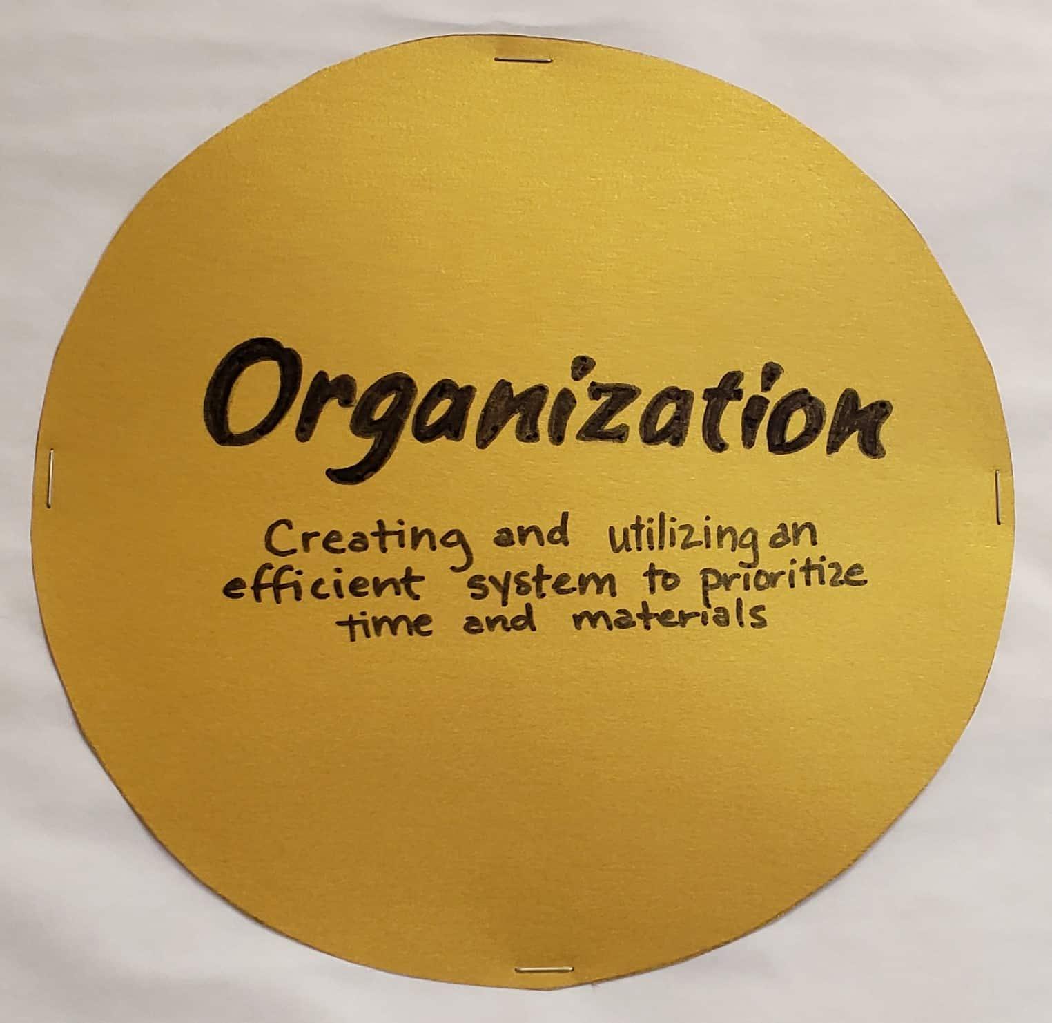 Organization Capstone Skill Definition