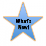 What's new! star graphic