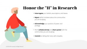 "Honor the ""H"" in Research"