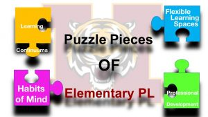 Puzzle Pieces of Elementary Personalized Learning