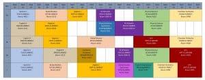 Freshman Flex-Mod Schedule