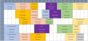 Senior Flex-Mod Schedule at Legacy High School