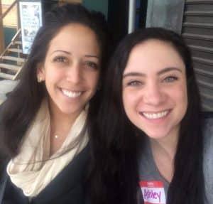 Photo of Stephanie Iovan and Ashley Ferrara