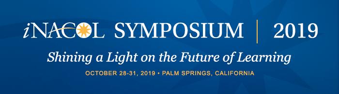 Announcement of 2019 iNACOL Symposium