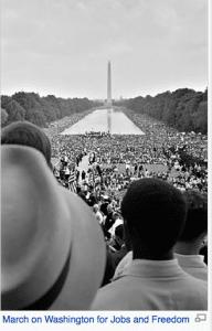 Jobs and freedom march on Washington